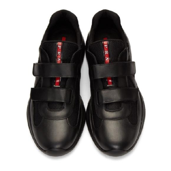 Prada Shoes   Prada Double Velcro Strap